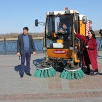 В Астрахани появились эффективные «помощники» в обеспечении чистоты
