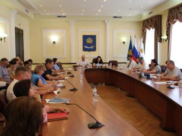 Комитет по городскому хозяйству и благоустройству города провёл заседание